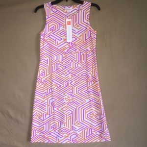 Jude Connolly Sleeveless Sheath Geometric Dress XS